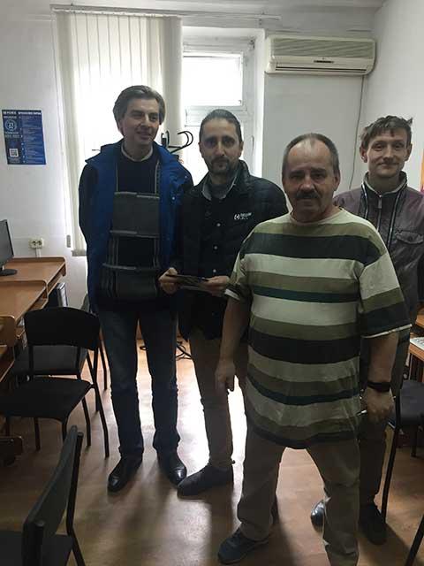Выпуск группы по курсу программирование и администрирование в системе 1С в учебном центре Успех г. Киева