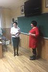 Випуск групи за курсом ораторської майстерності та риторики в навчальному центрі Успіх м.Києва