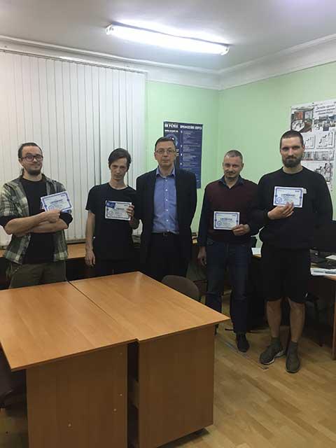 Выпуск группы по курсу Cистема автоматизации проектных работ SolidWorks в учебном центре Успех г. Киева